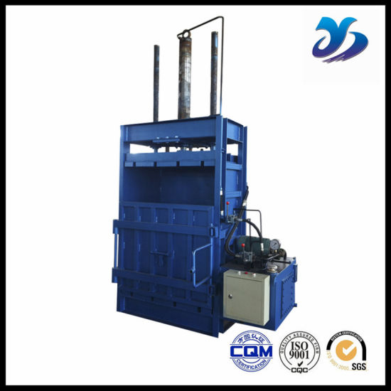 Hydraulic Baler for Pet Bottle and Waste Cotton pictures & photos