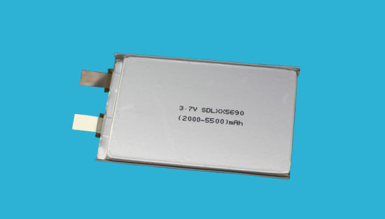 3000mAh 3.7V Lithium Polymer Battery for Consumer Electronics pictures & photos