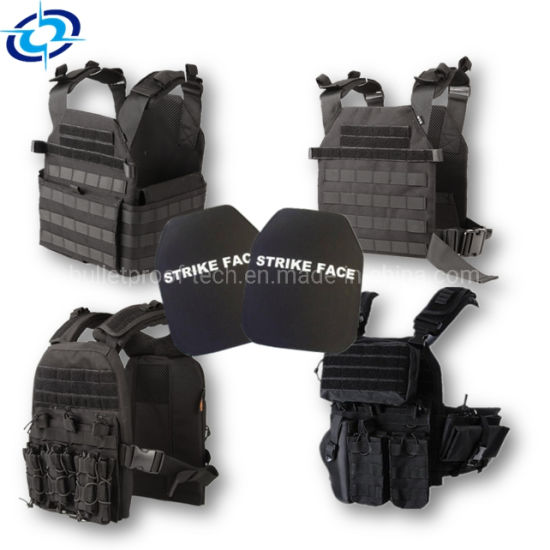 Military Protection Tactical Waterproof Ballistic Bulletproof Vest with Pouches