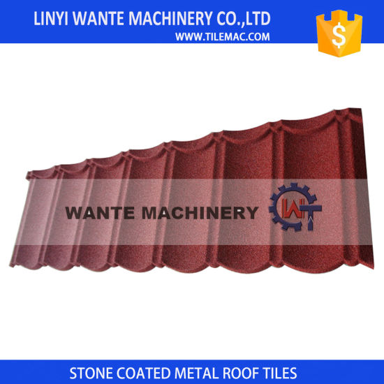 Sand Coated Metal Roof Tiles Weight Is 1/8 of Ordinary Tiles
