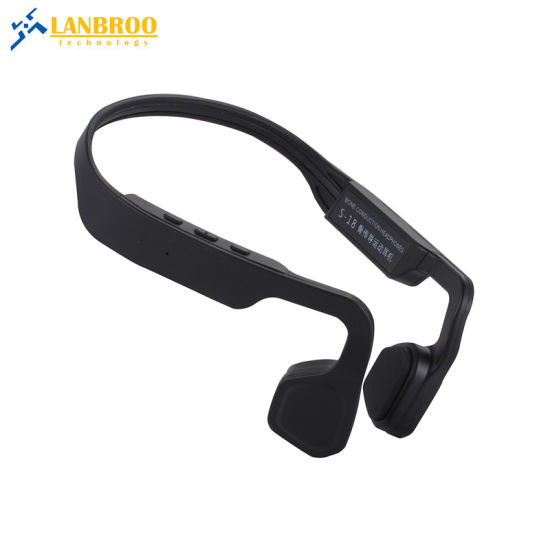 Hurtless Bone Conduction Bluetooth Wireless Headphone W/ CVC Noise Cancellation OEM Factory for Music pictures & photos