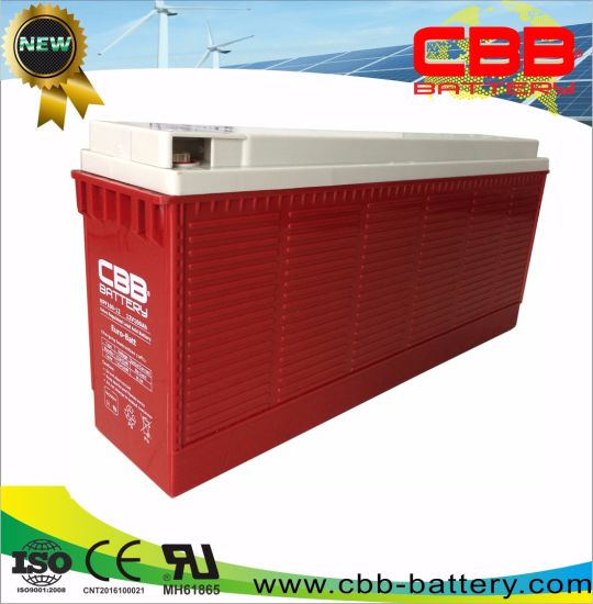 Cbb 12V 100ah Front Terminal AGM Battery for Telecom pictures & photos