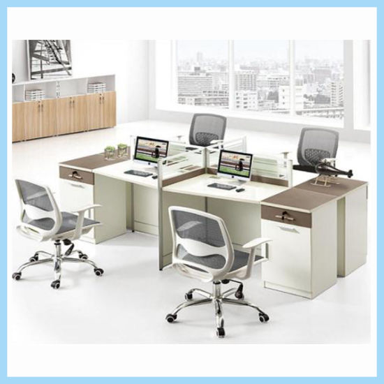 Latest Modern Office Desk Furniture Office Workstation With Partition