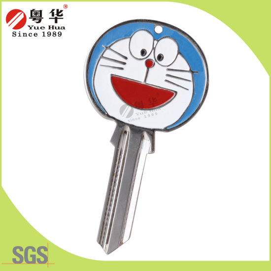 2016 New Products Custom Color and Design 3D Color Key Blank for Door Lock From China
