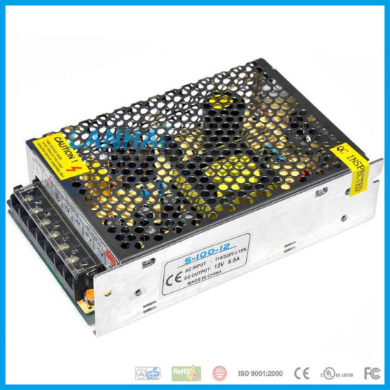 12V 50A 600W Outdoor Weatherproof Aluminium Shell Switching Power Supply