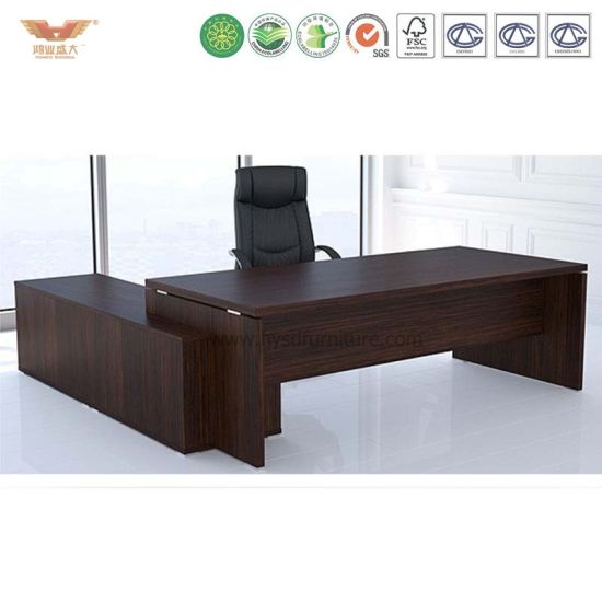 Office Desk With Locking Drawers Made