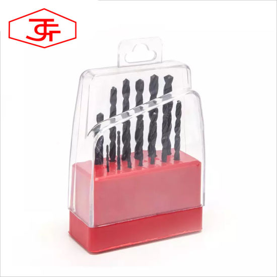 Customized Brocas High Speed Steel Drill Bits Set for Stainless Steel Drilling