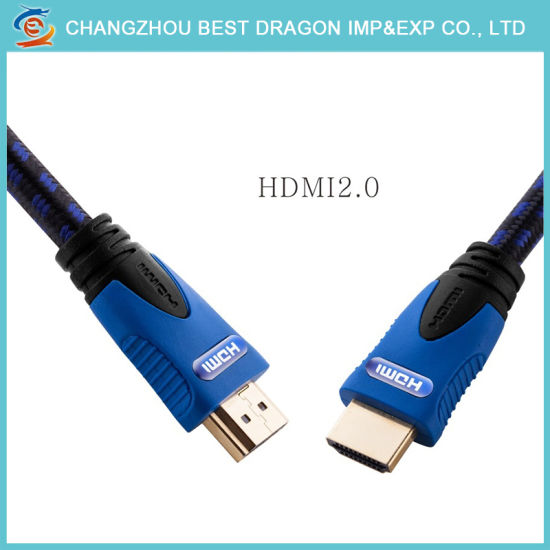 China Gold Plated Support Ethernet 3D 2 0 18gbps 4K HDMI