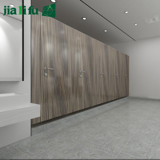 Jialifu Solid Phenolic Hotel Bathroom Partition pictures & photos