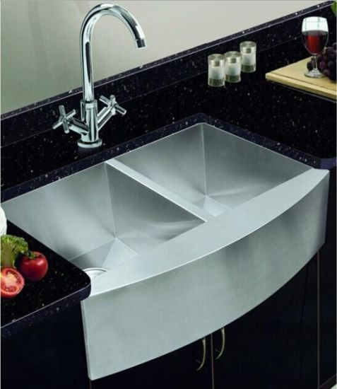 China Handmade Square Stainless Steel Kitchen Sink, Farm House Sink ...