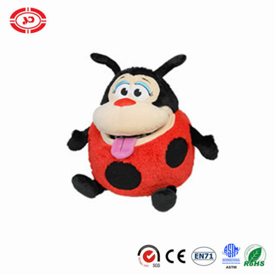 Ladybug Lovely Face Embroidered Tummstuffers Kids Toy pictures & photos