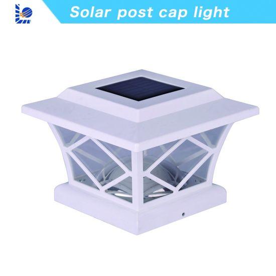 China Clic Style Solar Led Post Cap