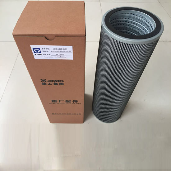 Tlx235L Hydraulic Oil Return Filter for XCMG Spare Parts