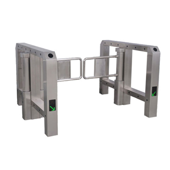 High Speed Swing Turnstile Gate for Supermarket Entrance