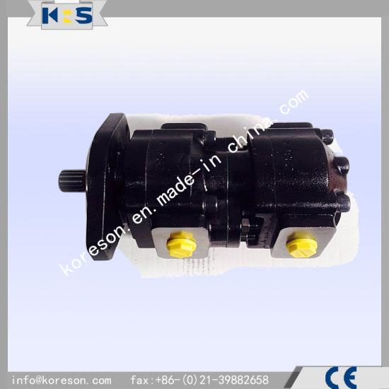 Cast Iron Tandem Pump for Jcb Machine