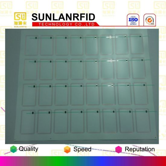 Factory Price High Quality MIFARE S50 1k RFID Card Inlay for Card Making (Different Layout) pictures & photos