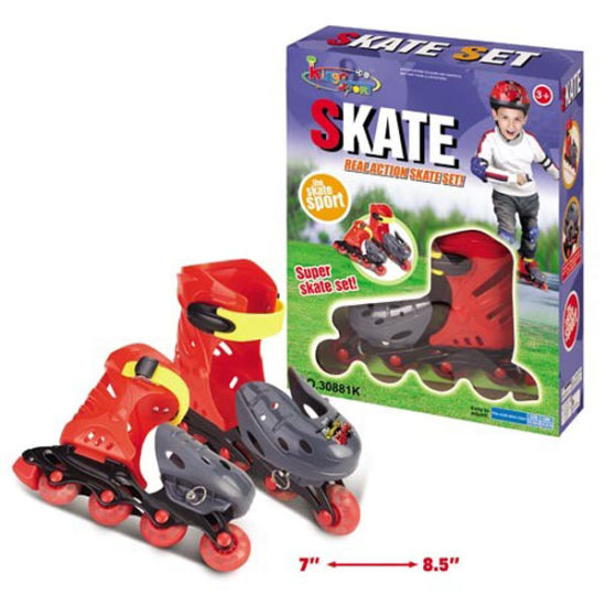 Adjustable Boys Roller Shoes Inline Skates for Boys with En71 (10231554) pictures & photos