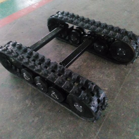 Small Rubber Track Undercarriage for Gargen Machine (Using 148mm width rubber track) pictures & photos