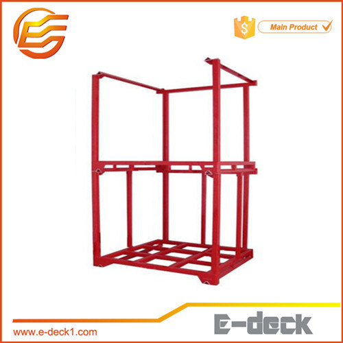 Powder Coating Stacking Metal Pallet Frame pictures & photos