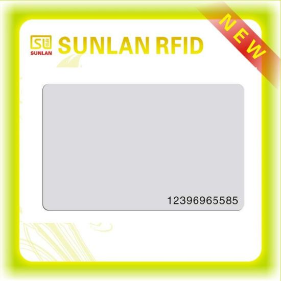 13.56MHz High Frequency 1k Compatible Fudan 1kb FM1108 Chip Card with Numbering pictures & photos