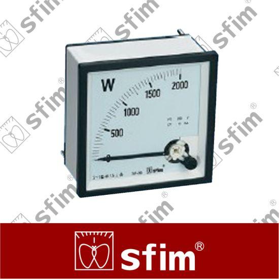 Generator Wattage Meter : China analog watt meter kvar