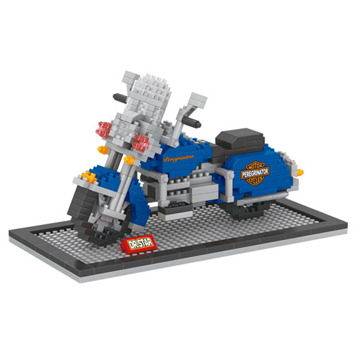 Building Block DIY Motorcycle Model Toy (H6876040)