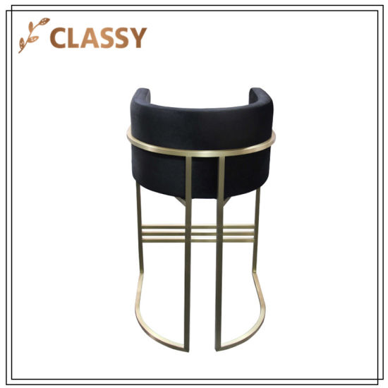 Fantastic China Stainless Steel Dining Furniture Bar Chair With Foot Machost Co Dining Chair Design Ideas Machostcouk
