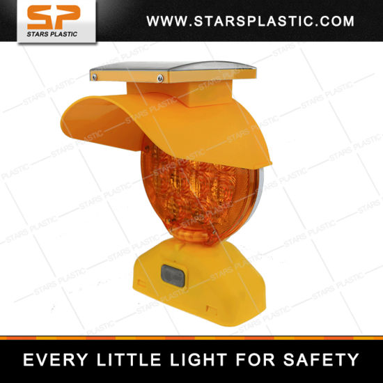 Road Safety Barrel LED Warning Barricade Light for Road Safety pictures & photos