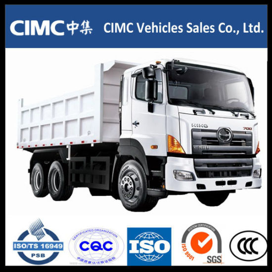 Hino 700 350HP Dump Truck Tipper Truck pictures & photos