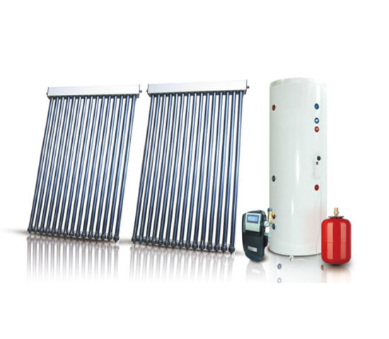 Seperated Active Heat Pipe Solar Water Heater System-Open Loop/Closed Loop