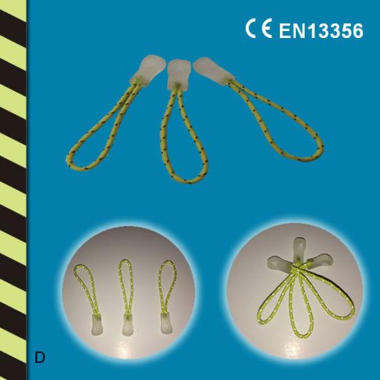 High Quality Reflective Zipper Head and Zipper Puller