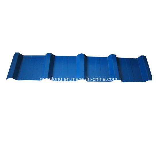 CGCC Dx51d PE Prepainted Roofing Corrugated Steel Sheet Building Material