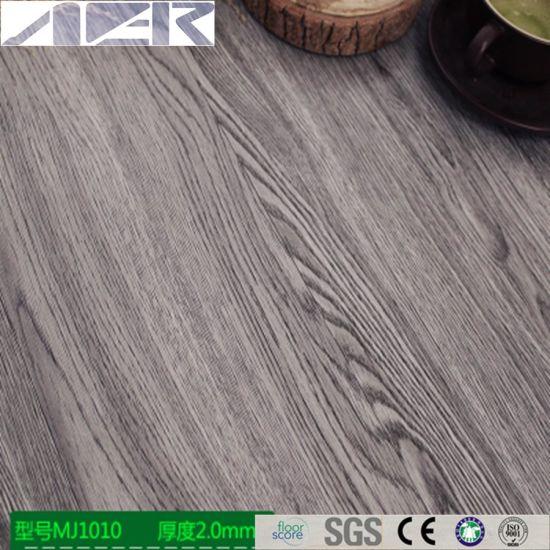 China 2mm 3mm Thick Easy Install Glueless Self Adhesive Pvc Vinyl