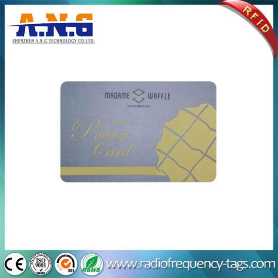 Plastic Em4200 Printing RFID Smart ID Card with ISO11785