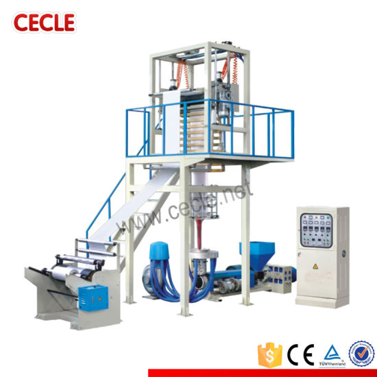 Shrinkable Film Extrusion Line PE High& Low-Pressure Blowing Film Machine/5%-10% off Cheap Plastic Film pictures & photos