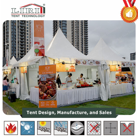 Outdoor Garden Gazebo Tent for About 100 People  sc 1 st  Liri Tent Technology (Zhuhai) & China Outdoor Garden Gazebo Tent for About 100 People - China ...