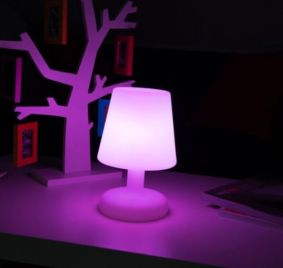 Indoor Modern Battery Operated Funky Table Lamps
