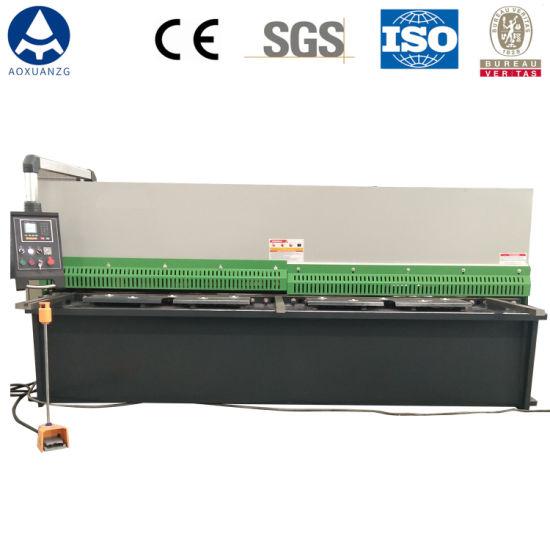 China Manufacturer QC12y-4X3200mm Hydraulic CNC Shearing Machine for Sale