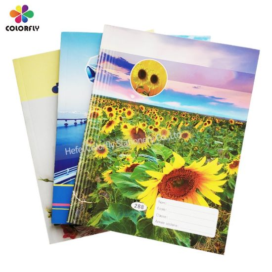 Wholesale Custom Printing Softcover French Line Exercise Book