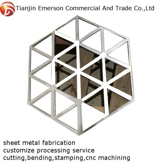 High Precision Custom OEM Stainless Steel Sheet Metal Fabrication