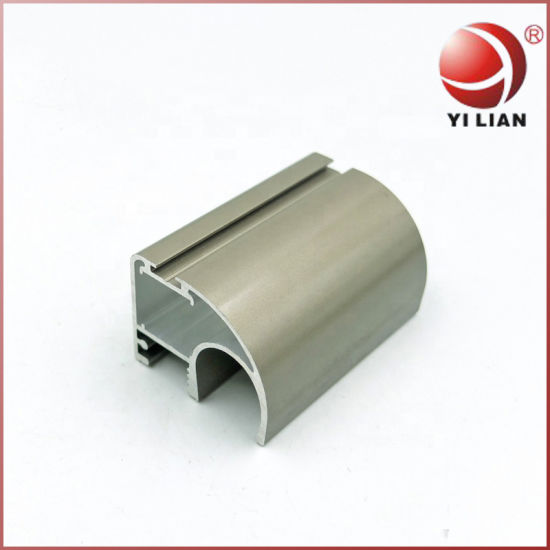 High Quality Custom Made Aluminum Wardrobe Sliding Door Profile