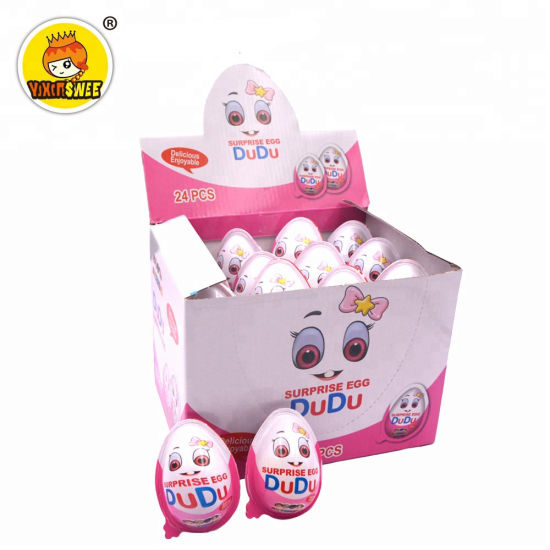 High Quality Chocolate Egg Kinder Toy Candy Chocolate with Biscuit