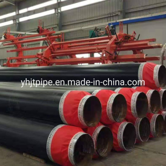 Steel Pipe with Heat Insulation Polyurethane Thermal Insulation Steel Pipe pictures & photos
