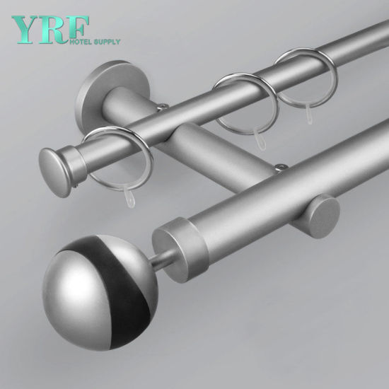 Chinese Guangzhou Manufacturer Heavy Duty Ceiling Mount Curtain Rods
