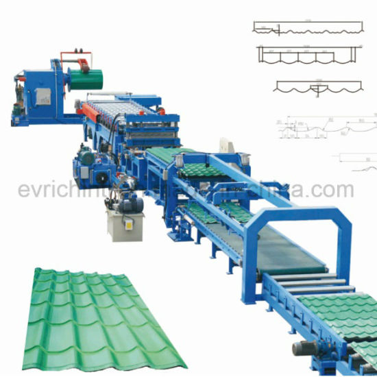 Metal Roof Tile Roll Forming Line pictures & photos