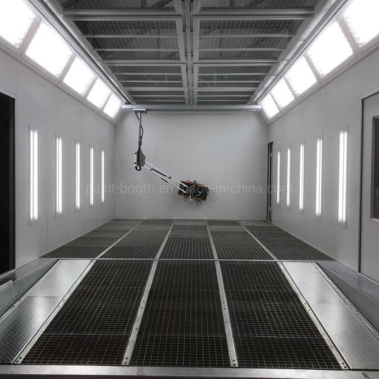 Ce Certificate High Efficient Downdraft Auto Painting Room for Automobiles