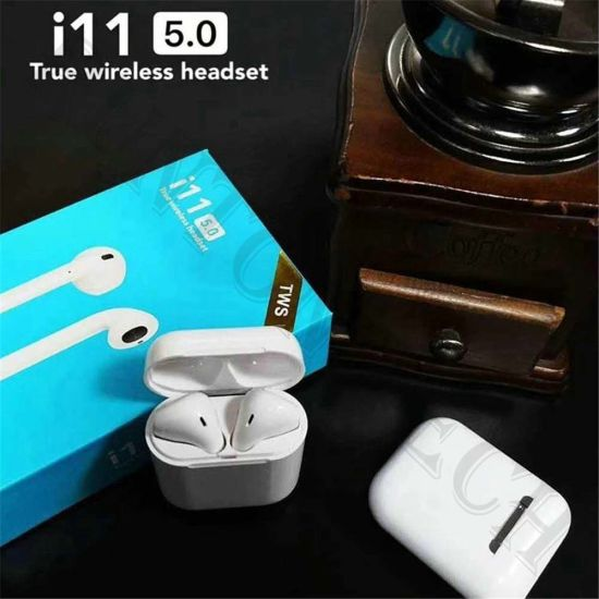 Wireless V5.0 I11 Tws Touch Bluetooth Earphones for Smart Phone