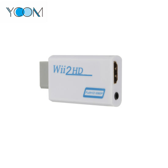 YCOM Wii to HDMI Converter Output Video Audio Adapter