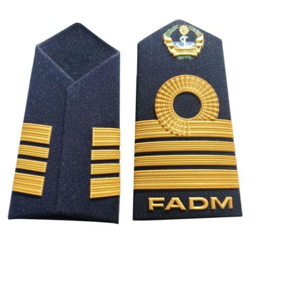 Wholesale Custom Us Military Army Marine Navy Uniform Shoulder Board and Shoulder Strap Epaulette