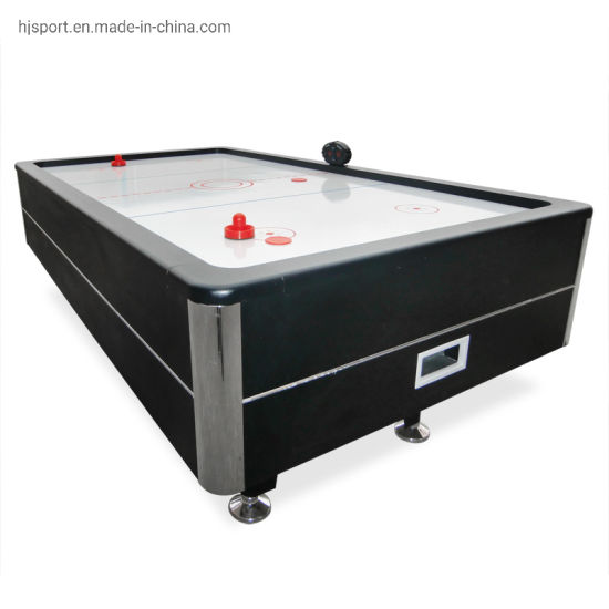 Luxury Sports Commercial Use Electronic Score Counter Indoor Games Push Air Hockey Table 84inch